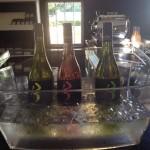 FRanschhoek Cellar Brampton wines in ice bucket Whale Cottage