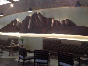 Franschhoek Cellar Bellingham Tasting Room lounge Whale Cottage