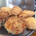 Batavia Cafe Muffins and croissants Whale Cottage