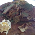 Graham Beck 25 Wild mushroom bark with Fynbos icing Whale Cottage