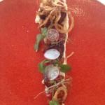 Saronsberg aubergine salad Whale Cottage