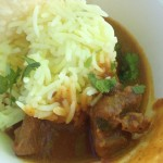Taste of Cape Town Jewel of India lamb curry Whale Cottage