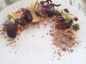 Boschendal Werf Chocolate dessert Whale Cottage