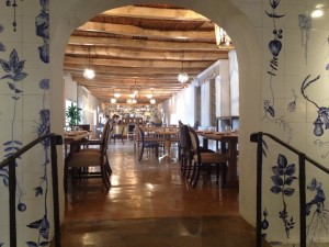 Boschendal Werf Paintd tile mural Whale Cottage