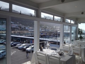 Harbour House View on Kalk Bay harbour Whale Cottage