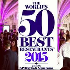 World's 50 Best Restaurants logo