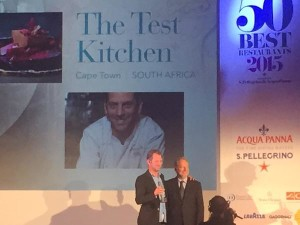 World's 50 Best Test Kitchen