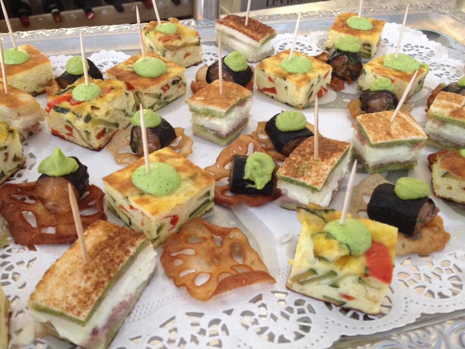 Cape town comes to munich celebrating a birthday and for Canape platters cape town