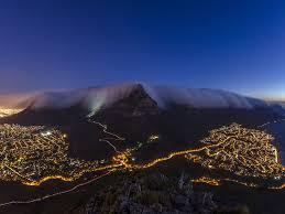 Cape Town fog
