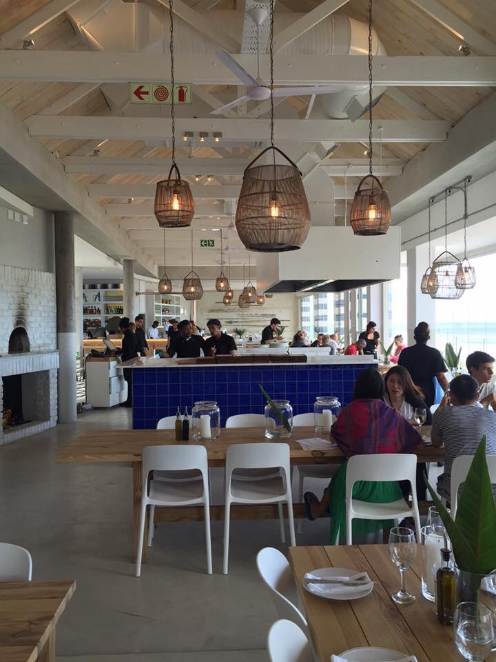 restaurant review live bait opens in muizenberg as greek style seafood restaurant - Beach Style Restaurant 2016